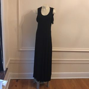 Killstar Black Hooded Maxi Dress